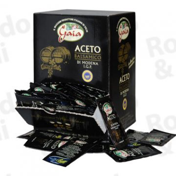 Aceto Balsamico Bustina 5 ml – Conf 200 pz