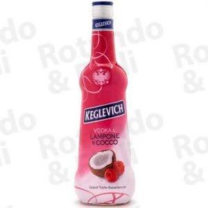 Liquore Vodka Keglevich Lampone-Cocco