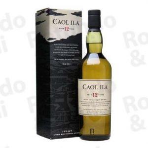 Liquore Whisky Caol Ila 12 years Astucciato