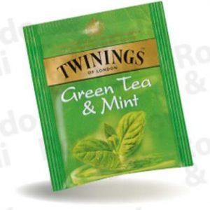 Twinings Green Tea & Mint 25 bustine