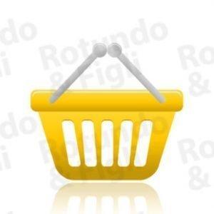 Vaschette Rettangolari Gastronomiche 500 gr - Conf 100 pz