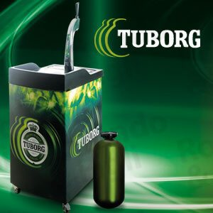 Birra Tuborg Chiara Fusto Select 10 lt