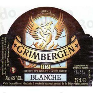 Birra Grimbergen Blanche Modular Fusto 20 lt