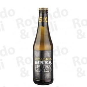 Birra L'Italica Puro Malto 33 cl - Conf 24 pz
