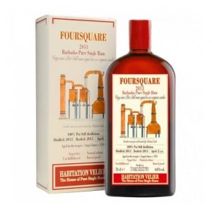 Rum Foursquare Barbados Bottled 2013 100% Post Still Astucciato