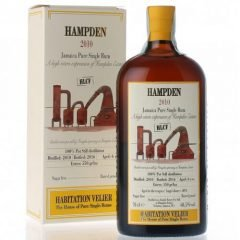 Rum Hampden Jamaica  2010 100% Post Still Astucciato