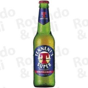 Birra Tennent's Super 33 cl - Conf 24 pz