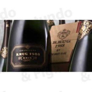 Champagne Krug 1988 Vintage Cofanetto
