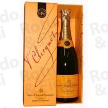 Champagne Veuve Clicquot Petersbourg Ast
