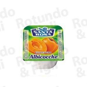Confezione Monoporzione Albicocca S. Rosa 20 gr - Conf 100 pz