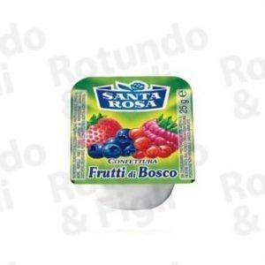 Confezione Monoporzione Frutti di Bosco S. Rosa 20 gr - Conf 100 pz