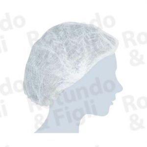Cuffia Plissè Elastica - Conf 100 pz