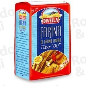 Farina Divella 00 1 kg - Conf 10 pz