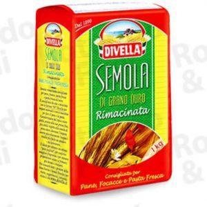 Farina Semola Divella 1 kg - Conf 10 pz
