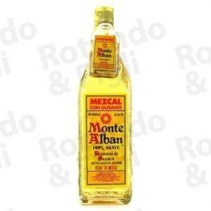 Liquore Tequila Monte Alban Mezcal 70 cl