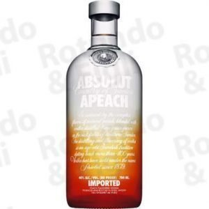 Liquore Vodka Absolut Peach