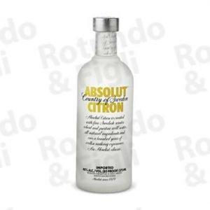 Liquore Vodka Absolut Citron 80 Proof