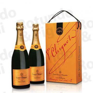 Champagne Veuve Clicquot S.Petesburg cl 75 -Conf 2